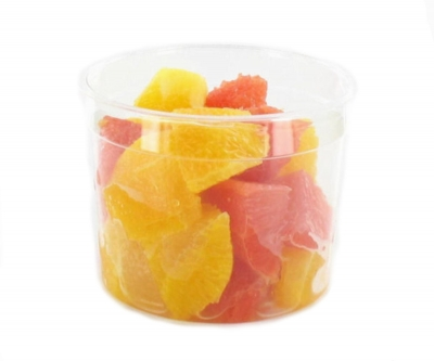 Orange et grapefruit en quartiers propres - 200 g