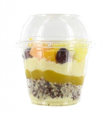 Sweet Quinoa, mix fruits et coulis mangue
