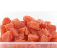 Grapefruit, cut in clean cubes -  1 kg