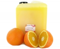 Fresh orange juice, semi-filtered, 5 lt