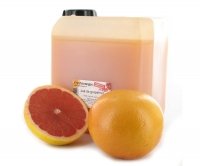 Fresh grapefruit juice (Ruby Star), semi-filtered, 2.5 lt