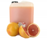 Fresh grapefruit juice (Ruby Star), semi-filtered, 5 lt