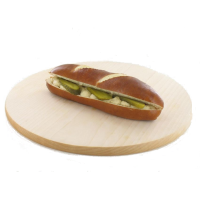 Pretzel bread sandwich with tuna mousse, 160g