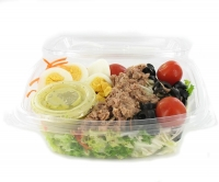 Salade with tuna and egg, 300g